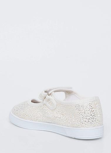 DeFacto Cırtcırtlı Babet Ayakkabı Bej